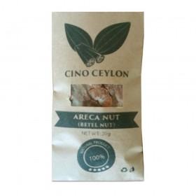 Areca nut (Areca catechu) 20g