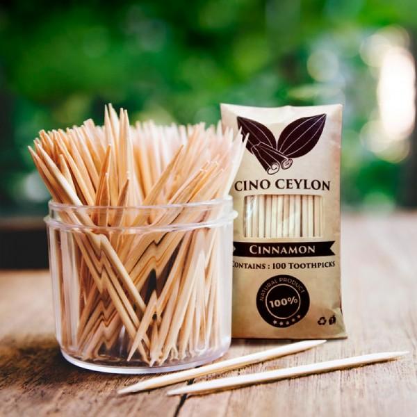Cinnamon 100 Toothpicks
