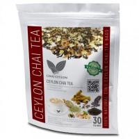 Masala Chai Tea Organic Herbals 30 BAGS Burns Fat