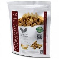 Ceylon Cinnamon (Cinnamomum verum) 30 Herbal Tea Bags Burns Fat
