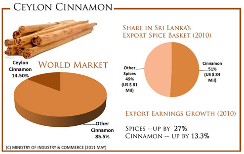 Ceylon Cinnamon marketing